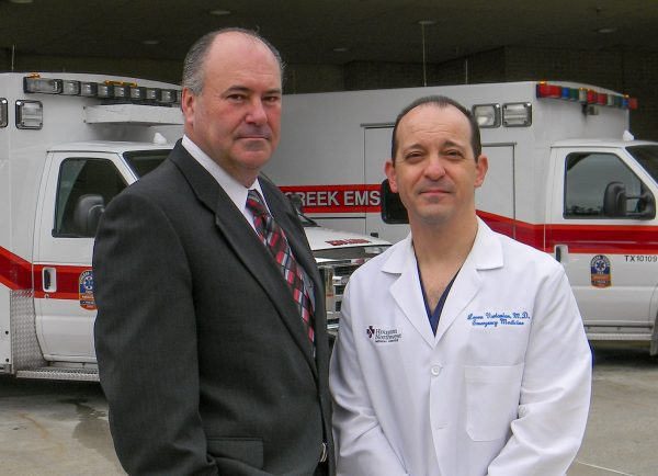 Bradley England, Executive Director (L) and Dr. Vartanian, Medical Director (R)